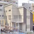30坪で線路脇の立地でも快適な、防音性に優れ開放的な家:松戸市